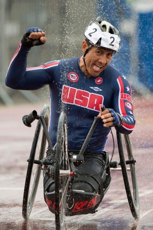 Oscar Sanchez aus den USA. (Bild: EPA/Urs Flüeler)