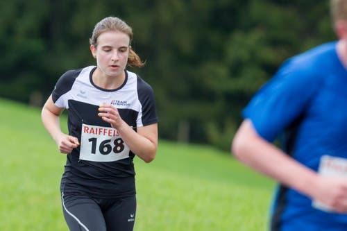 Alexandra Wallimann (Kerns) wurde Tagessiegerin bei den Frauen 1. (Bild: Beat Blättler)