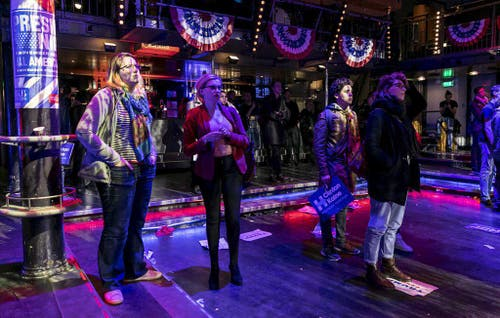 US election party in Netherlands (Bild: Keystone)