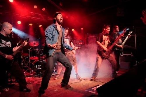Impressionen vom Rüchä Rock-Festival in Unterschächen. (Bild: Florian Arnold / Neue UZ)