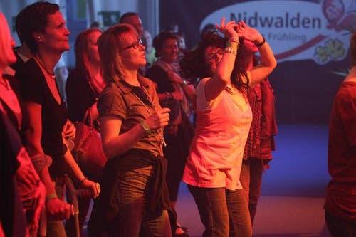 Die Music-Night am Samstagabend war gut besucht. (Bild: Roger Zbinden / Neue LZ)