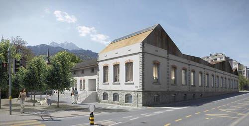 «Kultur / Jugend / Gewerbe Schappe Süd (mit Musikschule)» (Bild: Visualisierung PD)