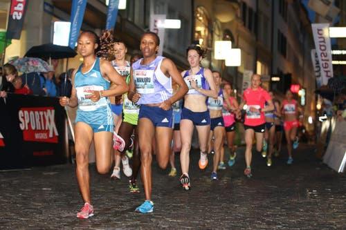 Eliterennen der Frauen. (Bild: Philipp Schmidli)