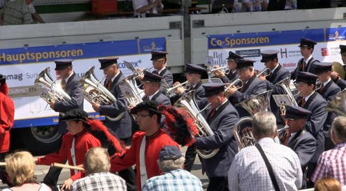 Musikgesellschaft Doppleschwand (Bild: Videostill rem)