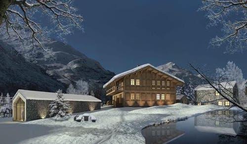 Insgesamt sind 25 Parzellen dafür vorgesehen. (Bild: Andermatt Swiss Alps)
