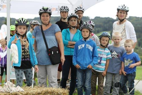 Teilnehmerinnen und Teilnehmer vom slowUp Seetal. (Bild: Philipp Schmidli / Neue LZ)