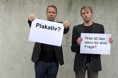 """Was bedeutet für Sie """"plaWas bedeutet für Sie """"plakativ""""? kativ""""? (Bild: Nadia Schärli)"""