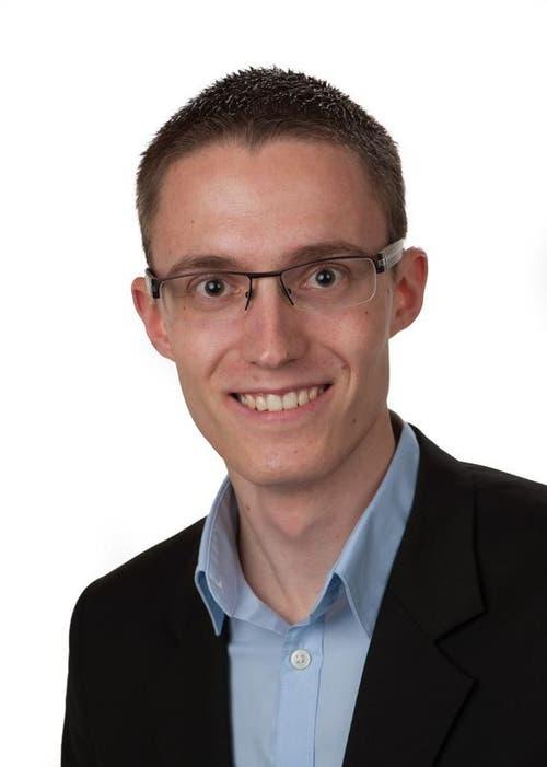 Stefan Hurschler, Oberdorf, Kaufmann, CVP, neu. (Bild: pd)