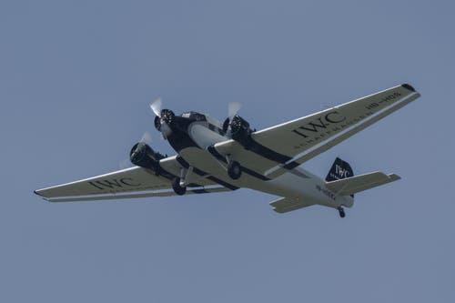 Junkers JU-52, bekannt als Tante Ju. (Bild: Martin Thoeni)