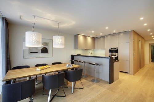 Küche (Bild: Bürgenstock Resort)