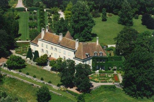 Kanton Zug: Schloss Freudenberg (Bild: Archiv Denkmalpflege, Zug)