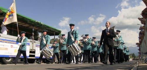 Musikgesellschaft Richenthal-Langnau (Bild: Videostill rem)