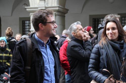 David Roth (SP) (Bild: Ramona Geiger / luzernerzeitung.ch)