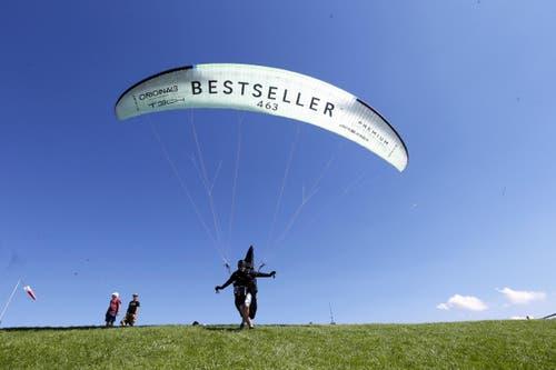 Sagts und hebt ab. (Bild: Werner Schelbert / Neue ZZ)
