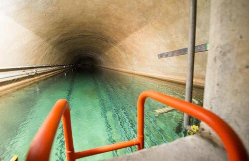 Der Trinkwasserspeicher wird zur Kühlung der Server verwendet. (Bild: Keystone)