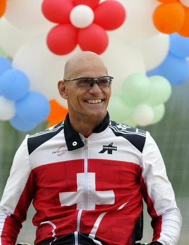 Rollstuhlsportler Heinz Frei. (Bild: Keystone)