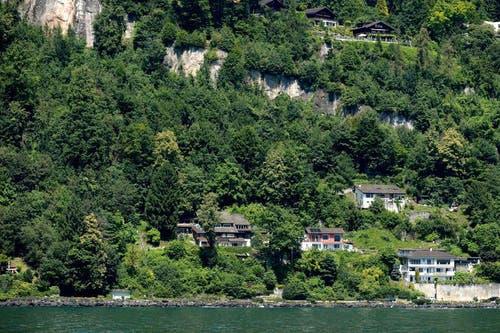 Ab dem 1. August sind die Häuser nicht mehr bewohnbar. (Bild: Keystone / Urs Flueeler)