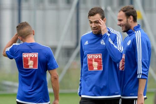 Der 30-Jährige kam vom FC St. Pauli aus der 2. Deutschen Bundesliga. (Bild: Keystone / Urs Flüeler)