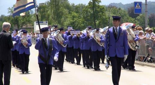 Musikgesellschaft Oberkirch (Bild: Videostill rem)