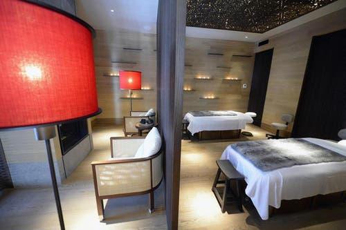 Massage-Raum im Spa-Bereich. (Bild: Keystone)