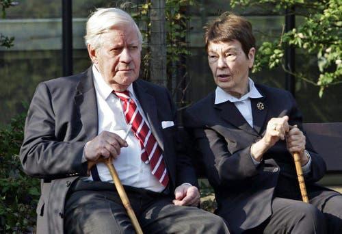 Foto des Ehepaars Schmidt vom 24. August 2007. (Bild: Keystone)