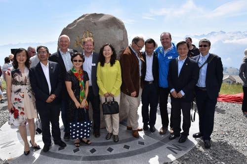 der Stein verbindet die Schweiz mit China. (Bild: pd)