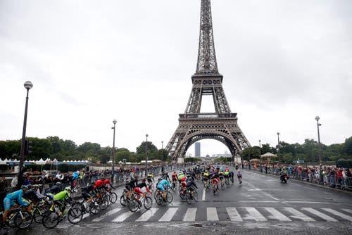 Eiffelturm (Bild: Epa / Etienne Laurent)