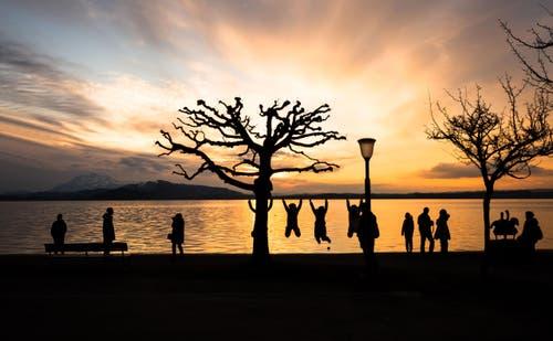 Sonnenuntergang am Zugersee (Bild: Daniel Hegglin)