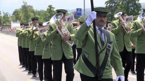 Musikgesellschaft Kleinwangen-Lieli (Bild: Videostill rem)