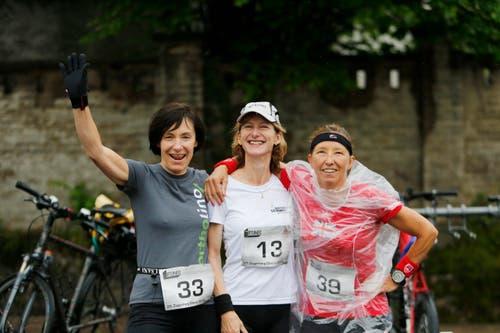Monika Weiss, Rita Bucher und Judith Märchy (von links). (Bild: Stefan Kaiser / Neue ZZ)