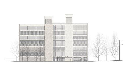 Ansicht Ost (Bild: Enzmann Fischer & Büro Konstrukt)