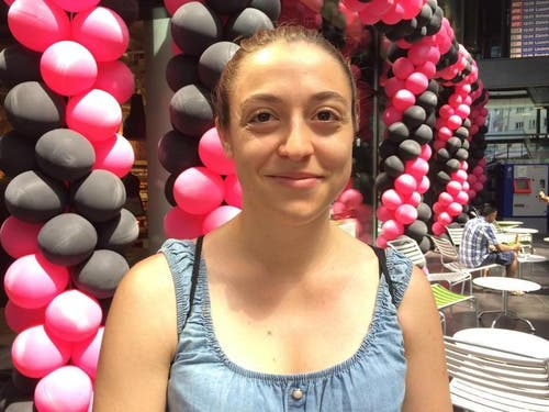 Gabriela Kvet (25), Zug: «Ich finde es faszinierend, wie das Konzept Karma entstanden ist und gross wurde. Während des Studiums fanden wir es nicht so glücklich aufgezogen. Jetzt finde ich es super.» (Bild: PD)