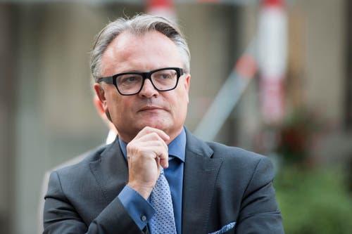 Der Luzerner Stadtrat und Stadtpräsident Stefan Roth. (Bild: Urs Flüeler / Keystone)