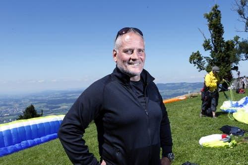 Der 52-Jährige fliegt nicht nur seit 23 Jahren regelmässig, sondern seit 21 Jahren auch Wettkämpfe, nationale und internationale. (Bild: Werner Schelbert / Neue ZZ)