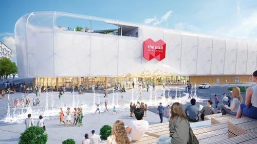 140 Geschäfte sind in der Mall of Switzerland in Ebikon geplant. (Bild: PD)