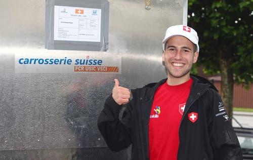 Manuel Lipp, Carrosseriespengler aus Ruswil. (Bild: pd)