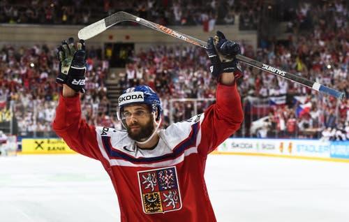 Hat das entscheidene Siegestor gemacht: der Tscheche Michal Vondrka. (Bild: FILIP SINGER)