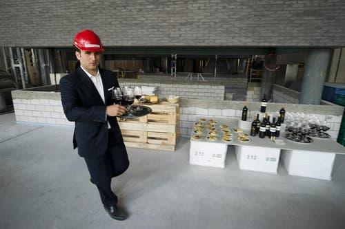 Die ersten Drinks werden schon Mitte April 2013 serviert. (Bild: Keystone)