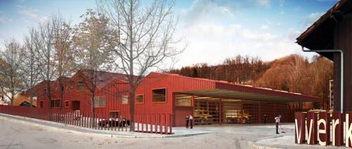 «Feuerwehr / Werkhof Eichenspes» (Bild: PD)