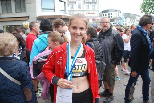 Amy Leibundgut aus Sarnen (Bild: Swiss-Image)