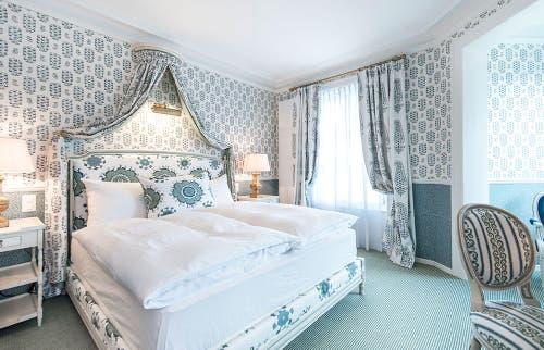 Doppelzimmer (Bild: Château Gütsch Immobilien AG)