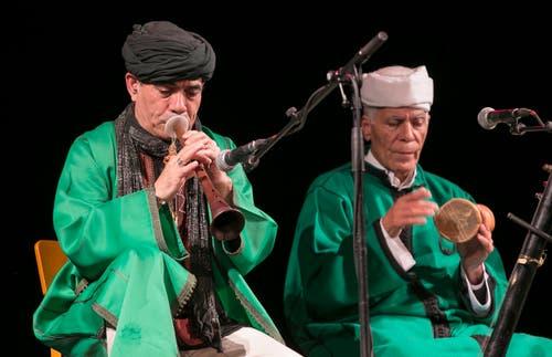 The Master Musicians of Jajouka led by Bachir Attar. (Bild: André A. Niederberger)