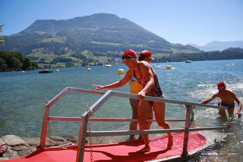 Alexandra Mungenast war mit 31.21 die schnellste Frau. (Bild: Irene Infanger / Neue SZ)