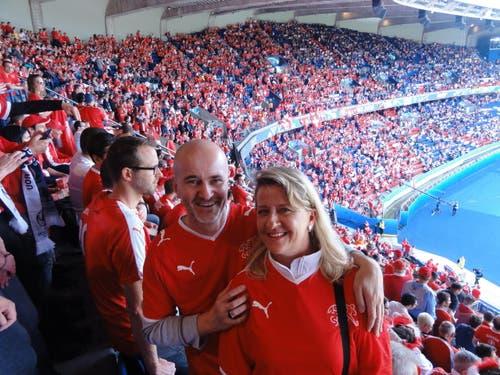 Bilder von unserer Reise ans EM-Spiel Rumänien - Schweiz. (Bild: Beatrice Allemann, Andreas Spring)