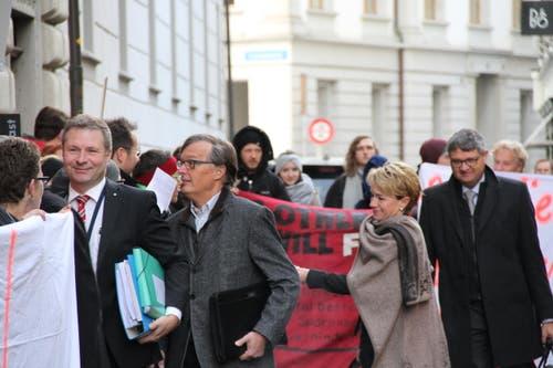 Marcel Schwezmann wurde ausgebuht. (Bild: Ramona Geiger / luzernerzeitung.ch)