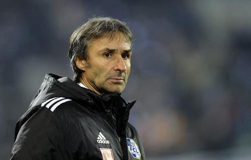 FCL-Trainer Ryszard Komornicki. (Bild: Keystone)