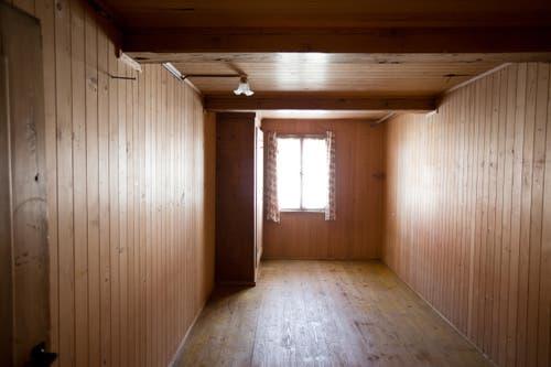 Blick in die Zimmer vom Obergeschoss des Pächterhauses. (Bild: Manuela Jans-Koch/Neue LZ)