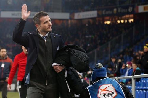 Der Sportchef vom FCL, Alex Frei. (Bild: Philipp Schmidli / Neue LZ)