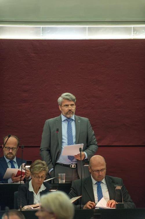 Damian Hunkeler, FDP. (Bild: Roger Grütter / Neue LZ)
