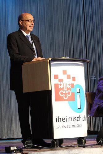 Gerhard Odermatt, Regierungsrat und Volkswirtschaftsdirektor von Nidwalden. (Bild: André A. Niederberger / Neue NZ)